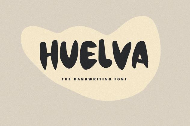 Huelva una letra manuscrita