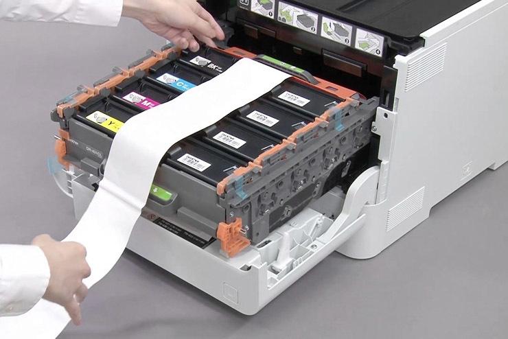 impresión laser