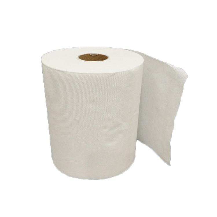 Papel higiénico fabricado con papel reciclado.