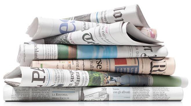 Periódicos, ejemplo típico de papel prensa.