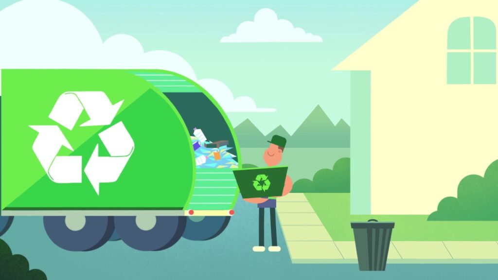 Proceso de obtención del papel reciclado.