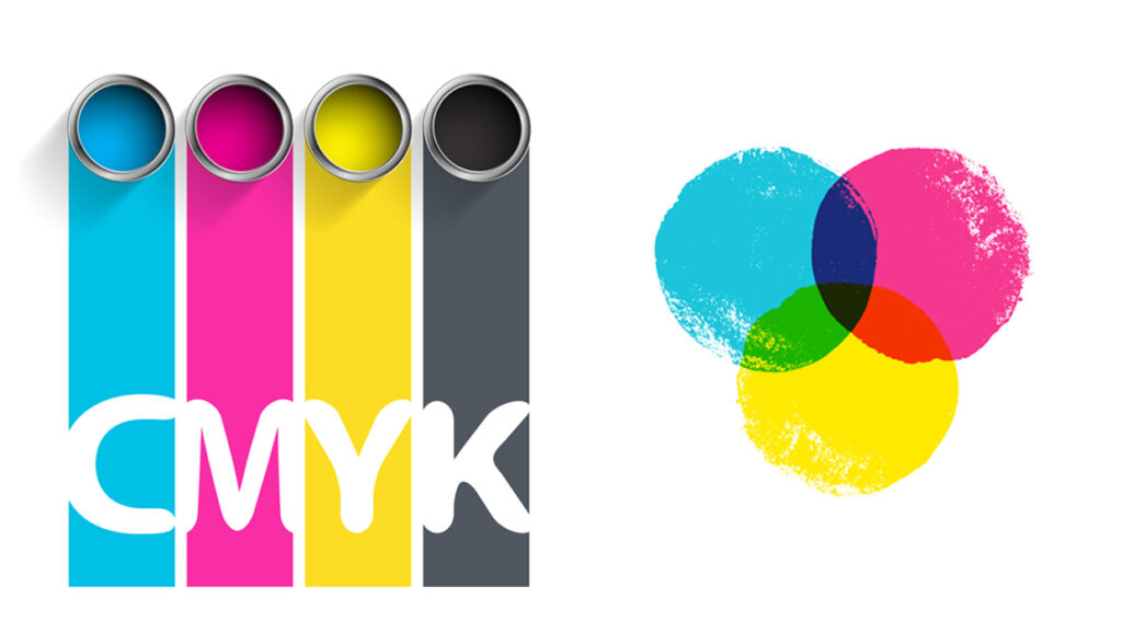 Inks used in four-colour printing