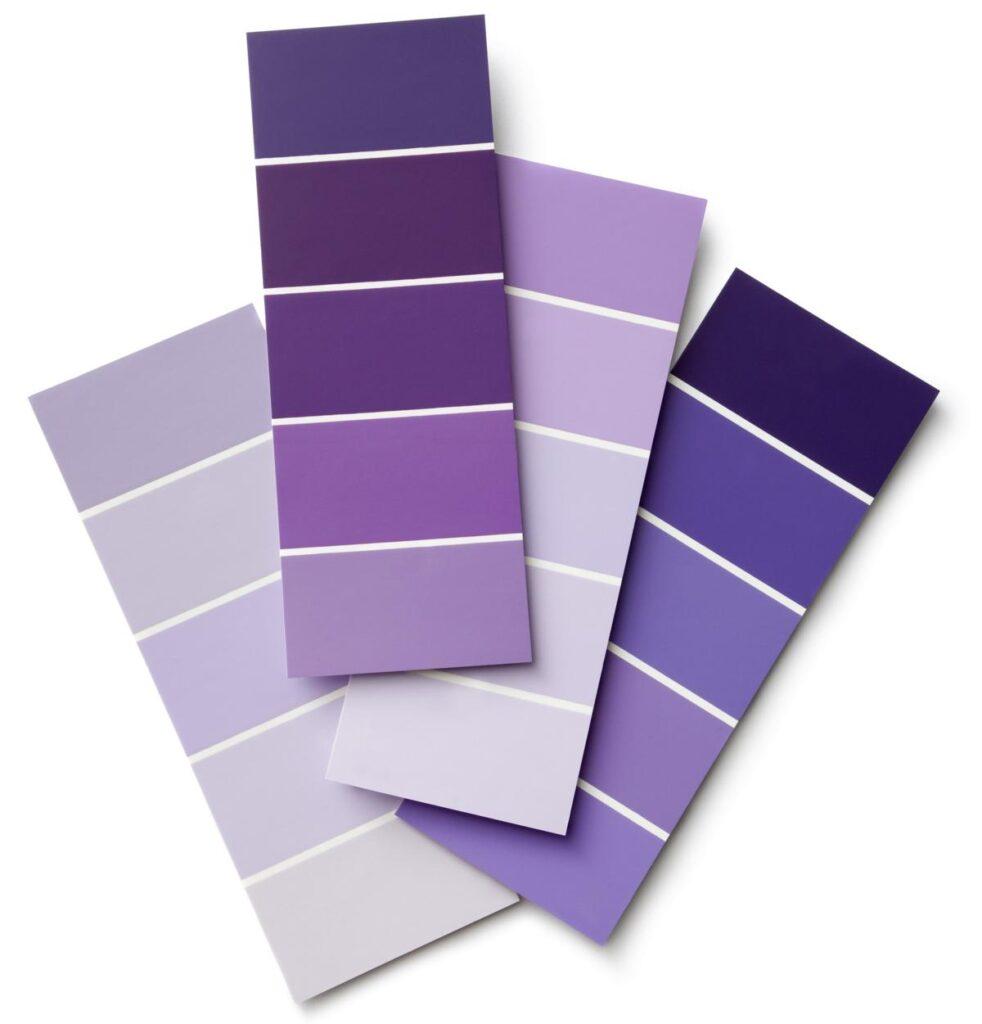Psicología del color morado