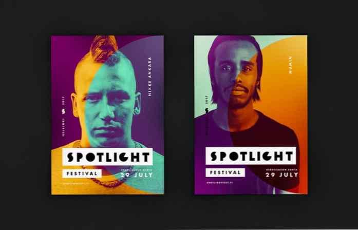 Medium poster design