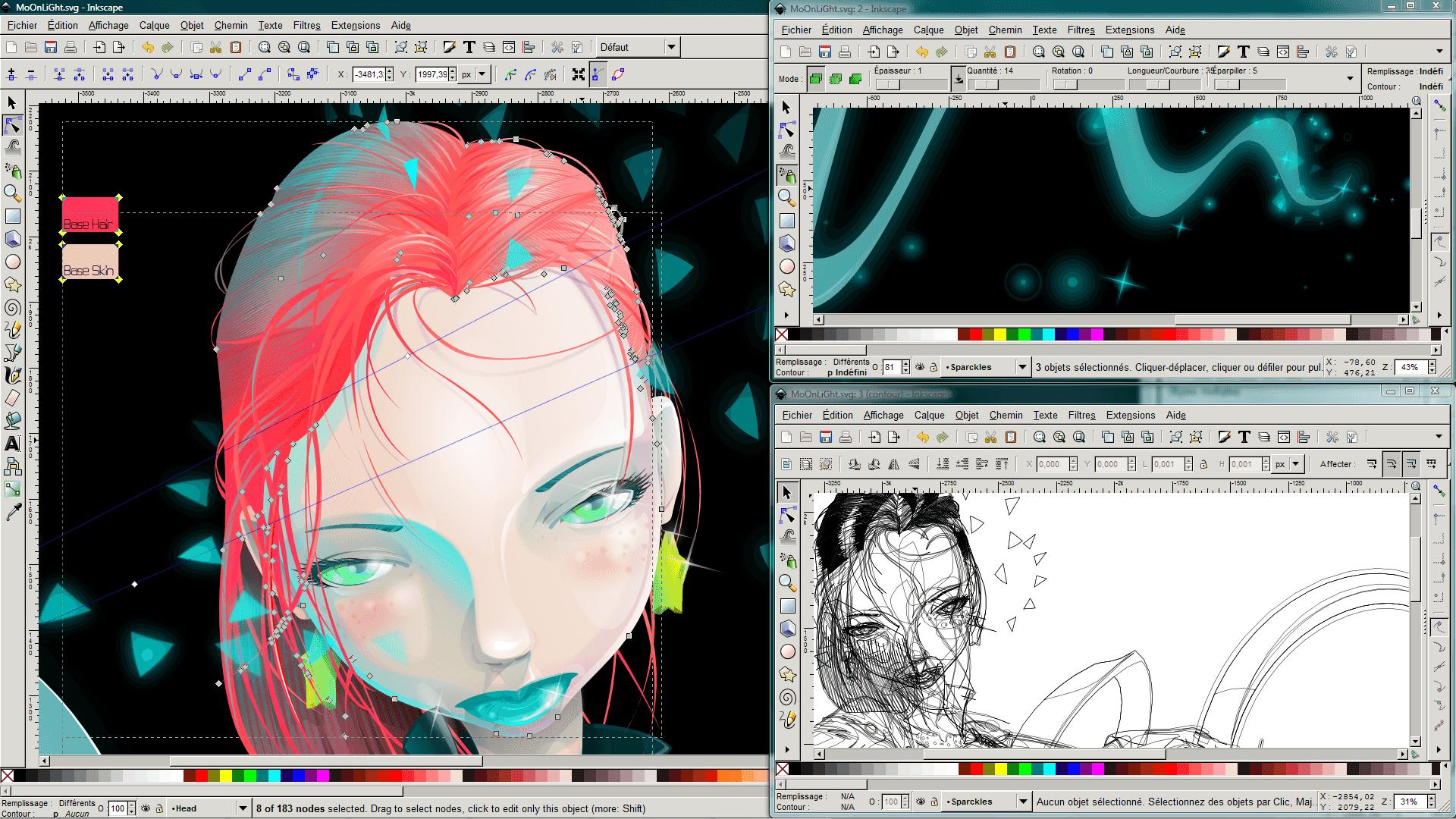 Inkscape herramienta para diseñadores gráficos