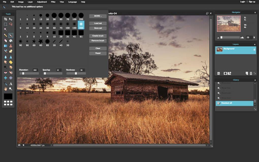 Pixlr designer tool