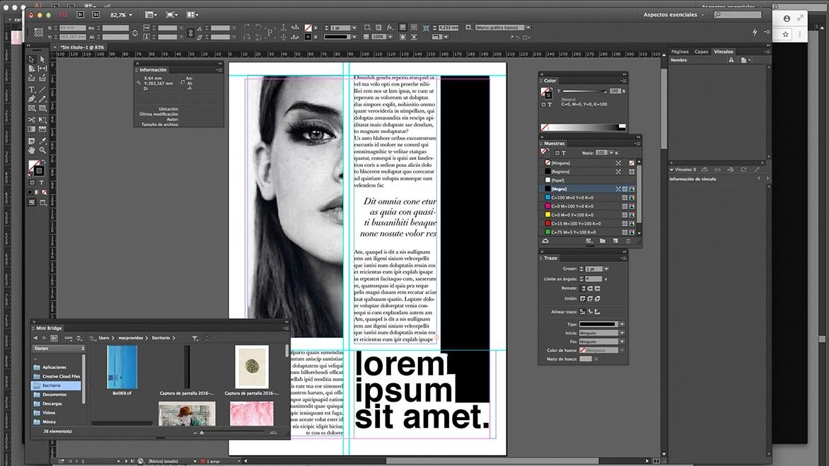 outil de conception indesign outil de conception de mise en page éditoriale