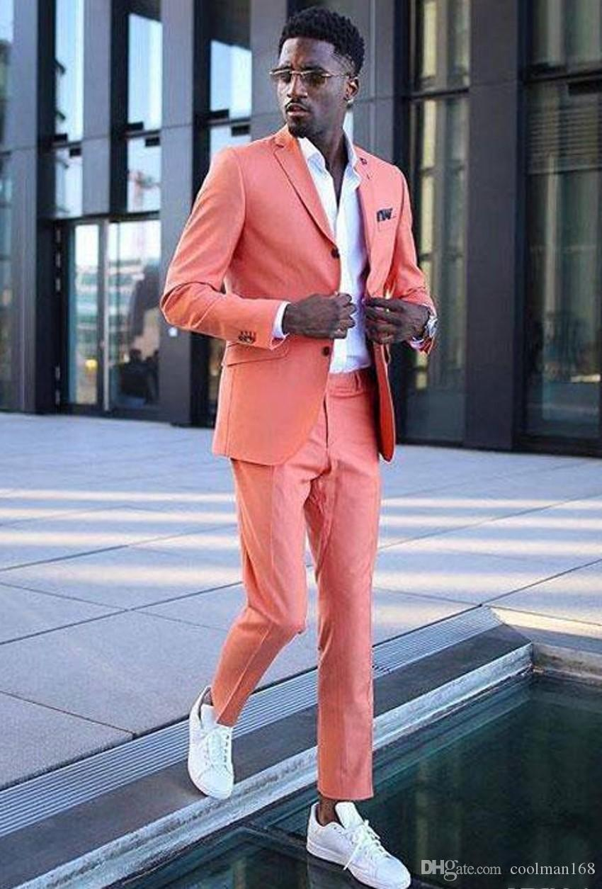 fashion men coral