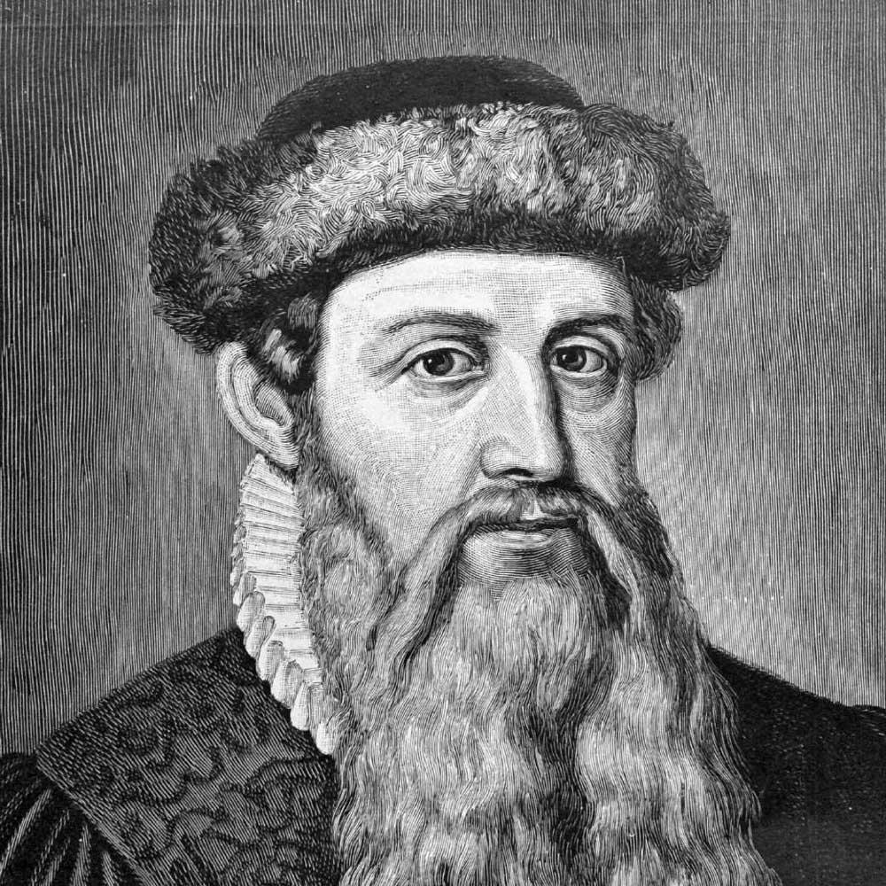 Johannes Gutenberg fue el inventor de la imprenta tal como la conocemos hoy en día.