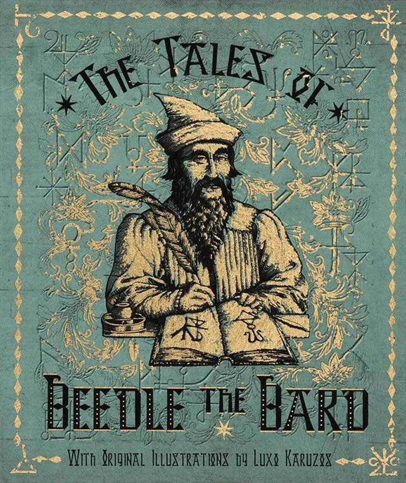 Tipografías de Harry Potter, los cuentos de Beedle el Bardo.