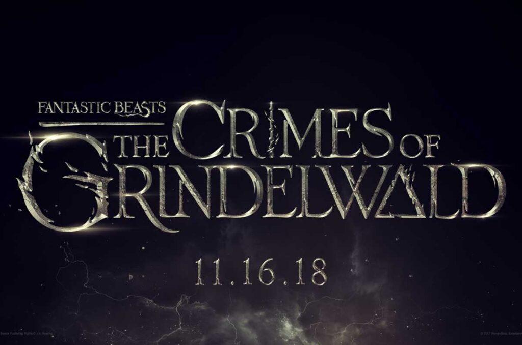 Tipografías de Harry Potter, los crímenes de Grindelwald.