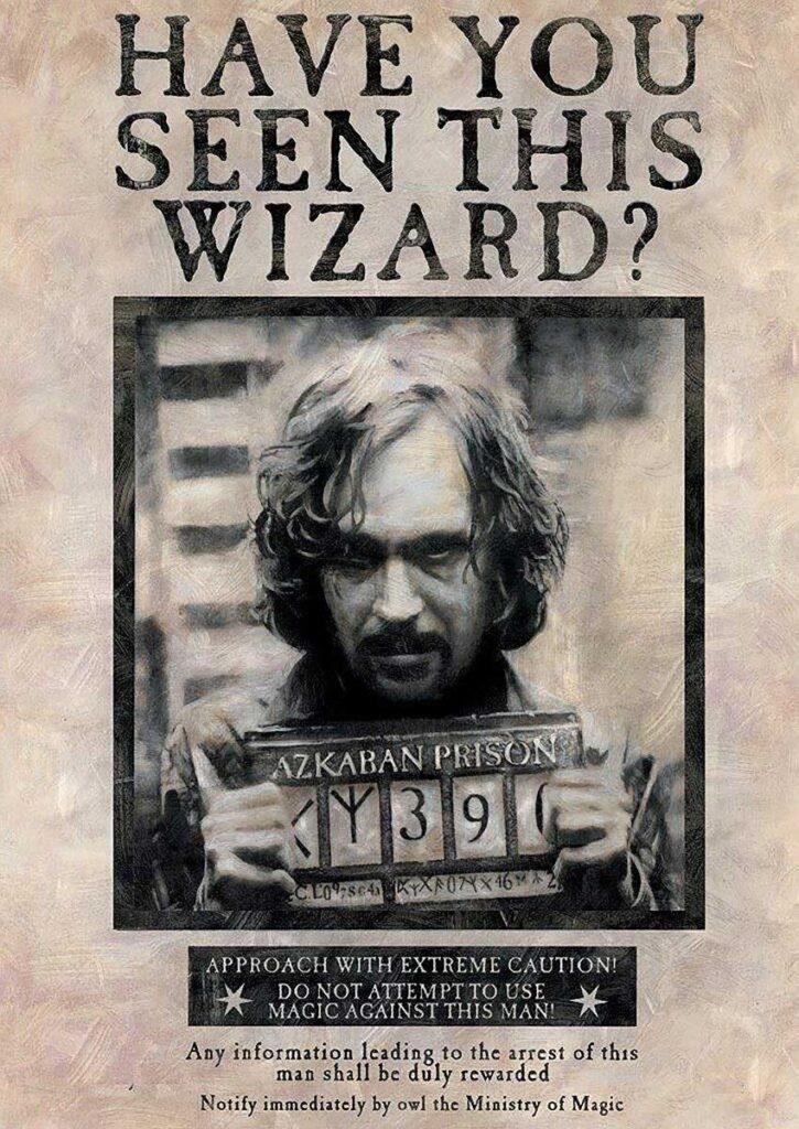 Tipografías de Harry Potter y el prisionero de Azkaban.