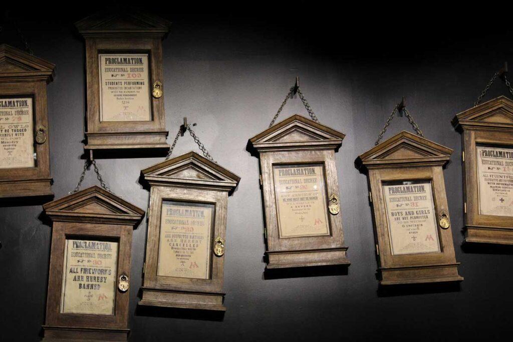Tipografías de Harry Potter y la orden del Fénix.