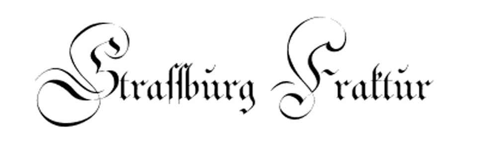 Fraktur gothic letters to download completely free
