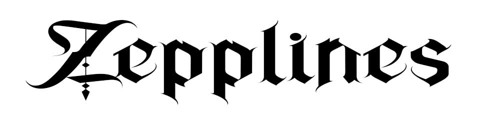 Zepplines gothic fonts for download