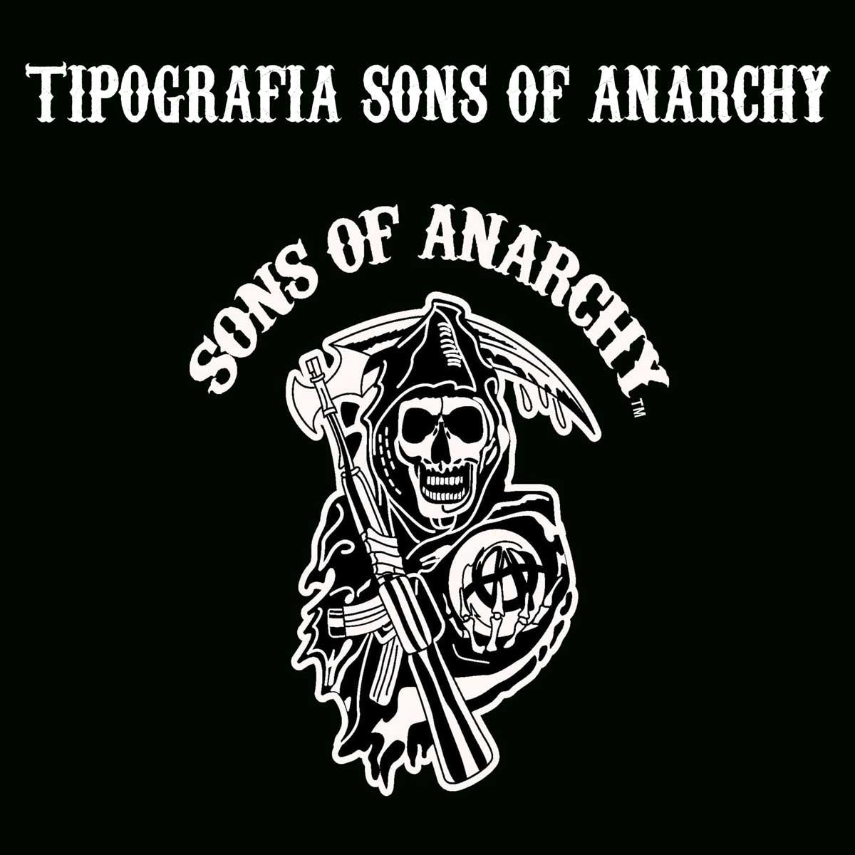 Tipografía Sons of Anarchy para descargar gratis.